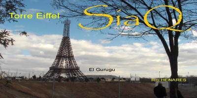 La torre Eiffel en mis manos